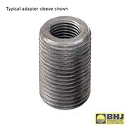 Harmonic Damper Installer Metric Adapter Sleeve M16-2.0